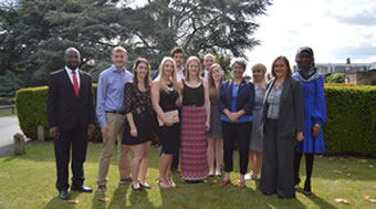 Twenty-four Roehampton students who have gone above and beyond the call of duty