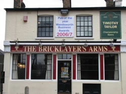 bricklayers arms putney